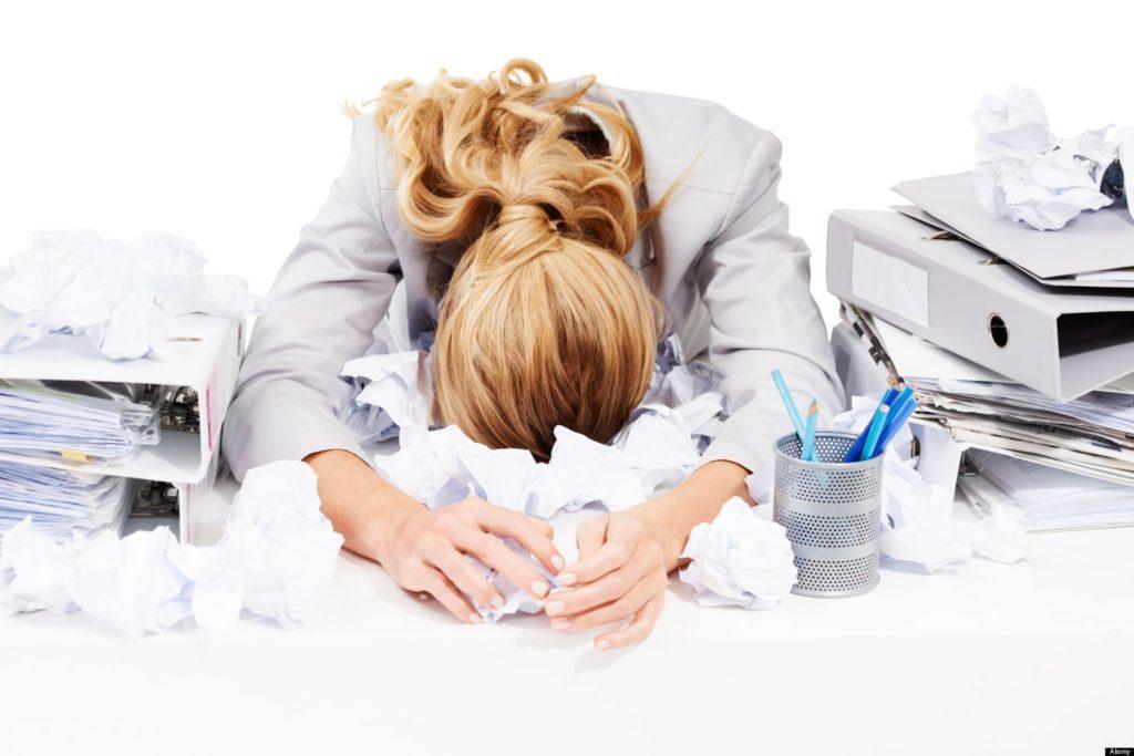 стресс на рабочем месте - как быть