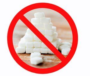 легкая для похудения - избегать сахара