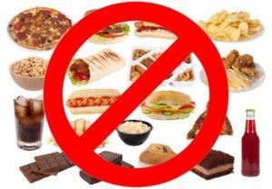 диета моэрмана - запрещенные продукты