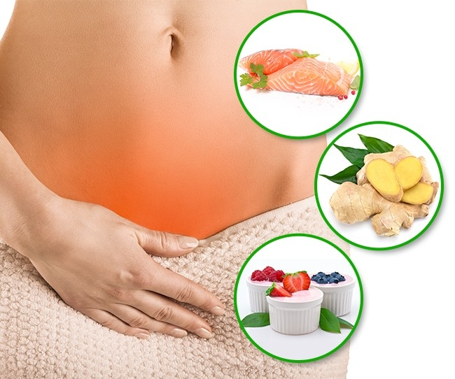 уменьшить при месячных и дисмонорее - питание