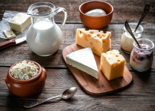 инсулинорезистентность питание и упражнение - молочные продукты