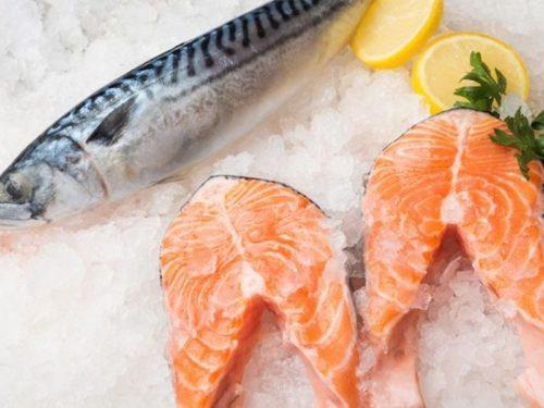 инсулинорезистентность питание и упражнение - рыба и морепродукты