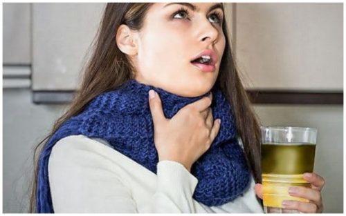 натуральный продукт от боли в горле