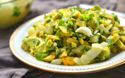 нефильтрованный натуральный продукт - вариант салата