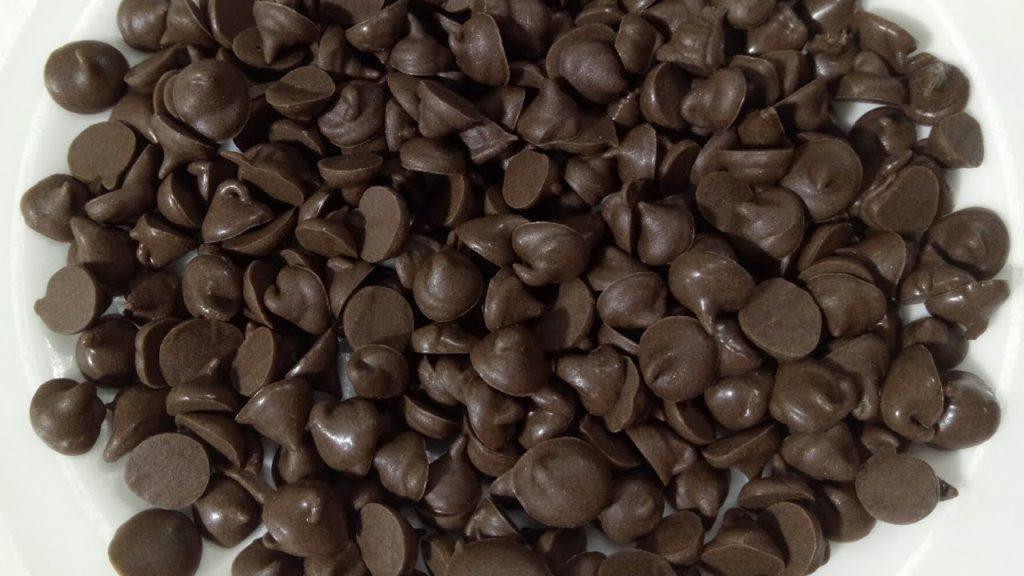 чипсы шоколадные для кето печенья