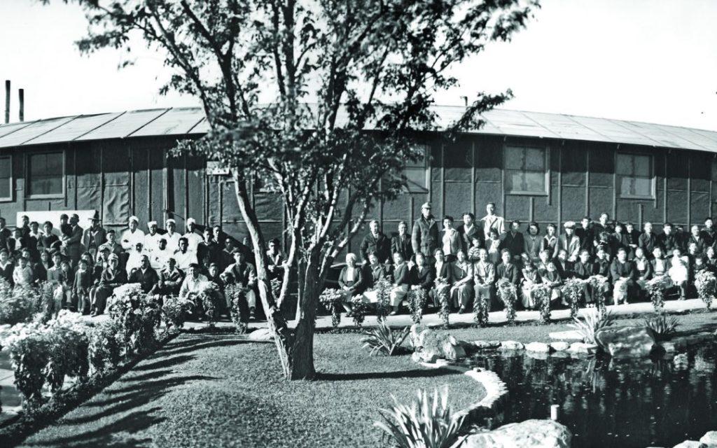 сады камней в концентрационных лагерях
