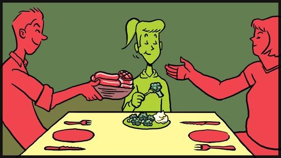ошибки на вегетарианской диете