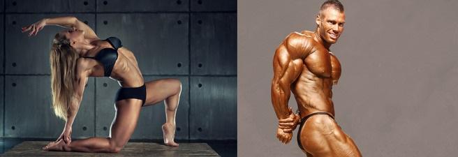 веганство и вегетарианство - сложно поддерживать низкий процент жира в организме как у фитнес моделей и бодибилдеров