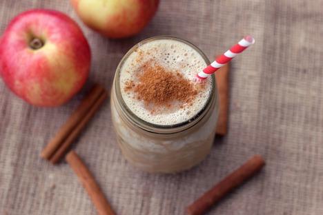 вегетарианский смузи яблочный пирог