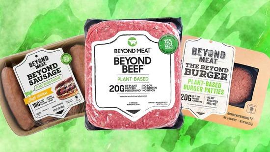 вегетарианское мясо Impossible Foods (Невероятный Воппер) и Beyond Meat - мировые лидеры