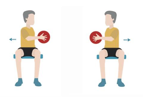 Скручивания на мышцы живота