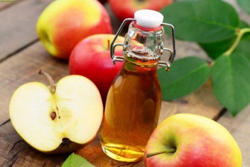 яблочный уксус против эпидермофитии