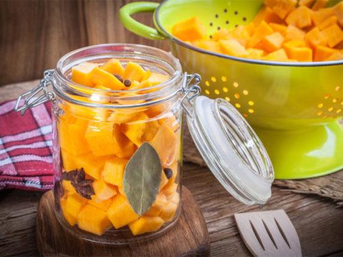 тыквенное пюре - консервированный продукт для здоровья