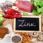 Цинк — роль в организме и содержание в продуктах питания
